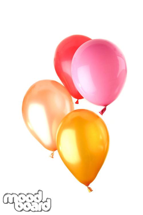Balloon on white background