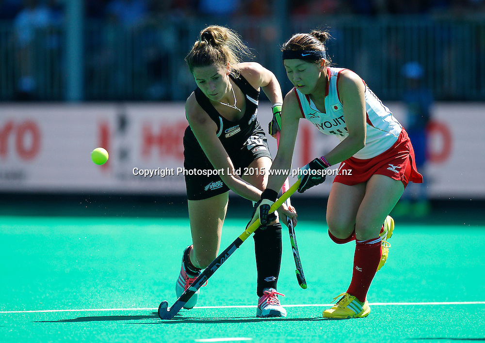 ANTWERP - Hockey World League Semi Final W &amp; M<br /> 25 NZL v JPN (QF 4)<br /> foto: <br /> FFU PRESS AGENCY COPYRIGHT FRANK UIJLENBROEK