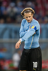 05.03.2014, Woerthersee Arena, Klagenfurt, AUT, Testspiel, Oesterreich vs Uruguay, im Bild Diego Forlan (Uruguay) // during the International Friendly between Austria and Uruguay at the Woerthersee Arena, Klagenfurt, Austria on 2013/03/05. EXPA Pictures © 2014, PhotoCredit: EXPA/ JFK