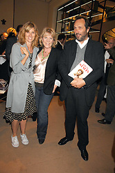 Left to right, ARABELLA MACMILLAN, HANNAH ROTHSCHILD and the HON.DAVID MACMILLAN at a party to celebrate the publication of 'Young Stalin' by Simon Sebag-Montefiore at Asprey, New Bond Street, London on 14th May 2007.<br /><br />NON EXCLUSIVE - WORLD RIGHTS