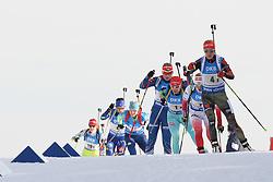 11.03.2016, Holmenkollen, Oslo, NOR, IBU Weltmeisterschaft Biathlon, Oslo, 4x6 Km Staffel, Damen, im Bild Maren Hammerschmidt (GER) // during 4x6 km women relay of the IBU World Championships, Oslo 2016 at the Holmenkollen in Oslo, Norway on 2016/03/11. EXPA Pictures © 2016, PhotoCredit: EXPA/ Newspix/ Tomasz Jastrzebowski<br /> <br /> *****ATTENTION - for AUT, SLO, CRO, SRB, BIH, MAZ, TUR, SUI, SWE only*****