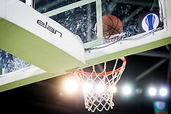 During basketball match between KK Union Olimpija Ljubljana and KK Tajfun in 22th Round of ABA League 2015/16, on January 30, 2016 in Arena Stozice, Ljubljana, Slovenia. Photo by Urban Urbanc / Sportida
