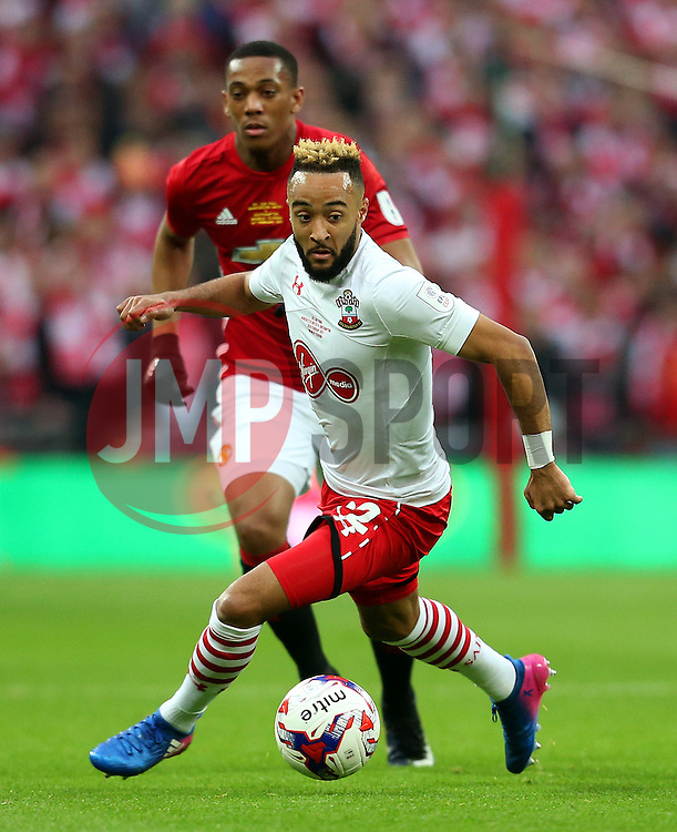 Nathan Redmond of Southampton  - Mandatory by-line: Matt McNulty/JMP - 26/02/2017 - FOOTBALL - Wembley Stadium - London, England - Manchester United v Southampton - EFL Cup Final