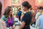MONA KHASHOGGI; SHARIFA AL SUDAIR, Yto Barrada opening. Pace London Soho. Lexington St. and afterwards at La Bodega Negra. Old Compton St. 23 May 2012.