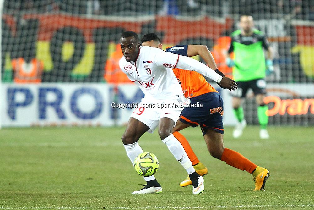 Kevin KOUBEMBA - 07.02.2015 - Montpellier / Lille - 24eme journee de Ligue 1<br /> Photo : Andre Delon / Icon Sport