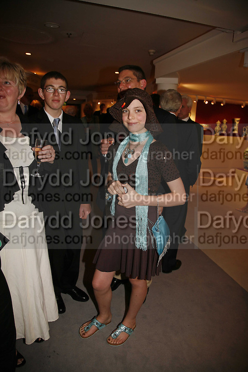 Katie Aldridge, Gala champagne reception and dinner in aid of CLIC Sargent.  Grosvenor House Art and Antiques Fair.  Grosvenor House. Park Lane. London. 14 June 2006. ONE TIME USE ONLY - DO NOT ARCHIVE  © Copyright Photograph by Dafydd Jones 66 Stockwell Park Rd. London SW9 0DA Tel 020 7733 0108 www.dafjones.com