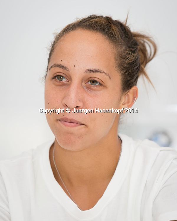MADISON KEYS (USA), Pressekonferenz<br /> <br /> Tennis - Pressekonferenz - WTA -  TipsArena - Linz - Oberoesterreich - Oesterreich  - 11 October 2016. <br /> &copy; Juergen Hasenkopf