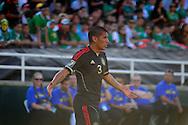 Carlos Salcido, jugador de Mexico en el partido frente a Estados Unidos, en la final de la Copa Oro 2011, en el estadio Rose Bowl, Pasadena, California, hoy sabado 25 de junio de 2011. Fotos IL: WIlton CASTILLO
