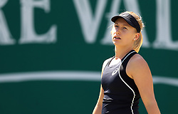 Australia's Daria Gavrilova reacts during day four of the Nature Valley Classic at Edgbaston Priory, Birmingham. PRESS ASSOCIATION Photo. Picture date: Thursday June 21, 2018. See PA story TENNIS Birmingham. Photo credit should read: Simon Cooper/PA Wire. RESTRICTIONS: Editorial use only, no commercial use without prior permission