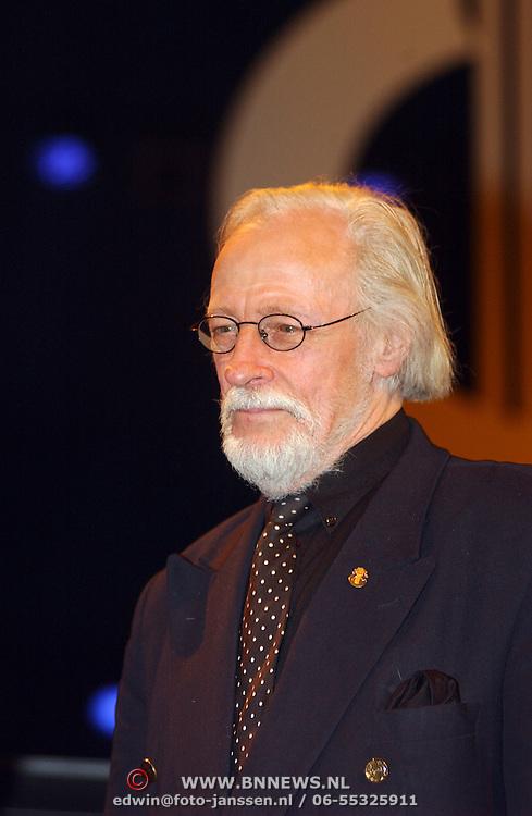 Harpengala 2003, Gouden Harp winnaar, Herman Pieter de Boer