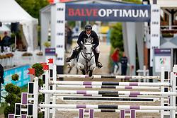Haßmann, Felix (GER), Cayenne WZ<br /> Balve - Optimum Deutsche Meisterschaft Dressur und Springen 2017<br /> © Stefan Lafrentz