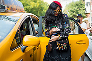 Arriving by Taxi, NYFW SS2017