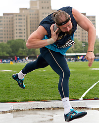 adidas Grand Prix Diamond League professional track & field meet: mens shot put, Tomasz MAJEWSKI, Poland