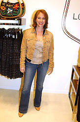 Actress TANYA FRANKS  at a party to celebrate the opening of the new H&M Flagship Store at 17-21 Brompton Road, London SW3 on 23rd March 2005.<br /><br />NON EXCLUSIVE - WORLD RIGHTS