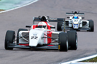 #22 Akhil RABINDRA (IND)  Lanan Racing  Tatuus-Cosworth  BRDC British F3 Championship at Rockingham, Corby, Northamptonshire, United Kingdom. April 30 2016. World Copyright Peter Taylor/PSP.