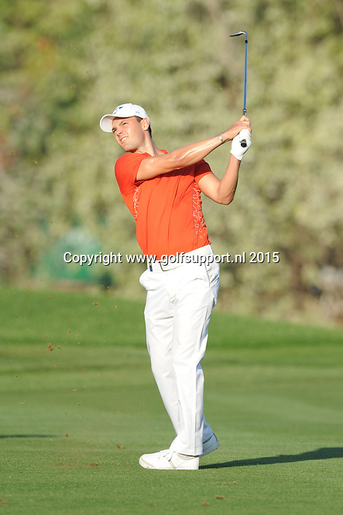 30/01/2015 European Tour 2015, Omega Dubai Desert Classic, Emirates GC, Dubai, UAE. 29 Jan - 01 Feb. Martin  Kaymer of Germany during the second round.
