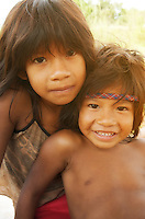 Guarani Indigenous Childrens, Misiones, Argentina Image by Andres Morya