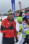 Viote Monte Bondone Ski Marathon, tecnica classica 15km -30km,il campione Olimpico di Torino 2006 Giorgio Di Centa, Viotte 27 febbraio 2016 © foto Daniele Mosna