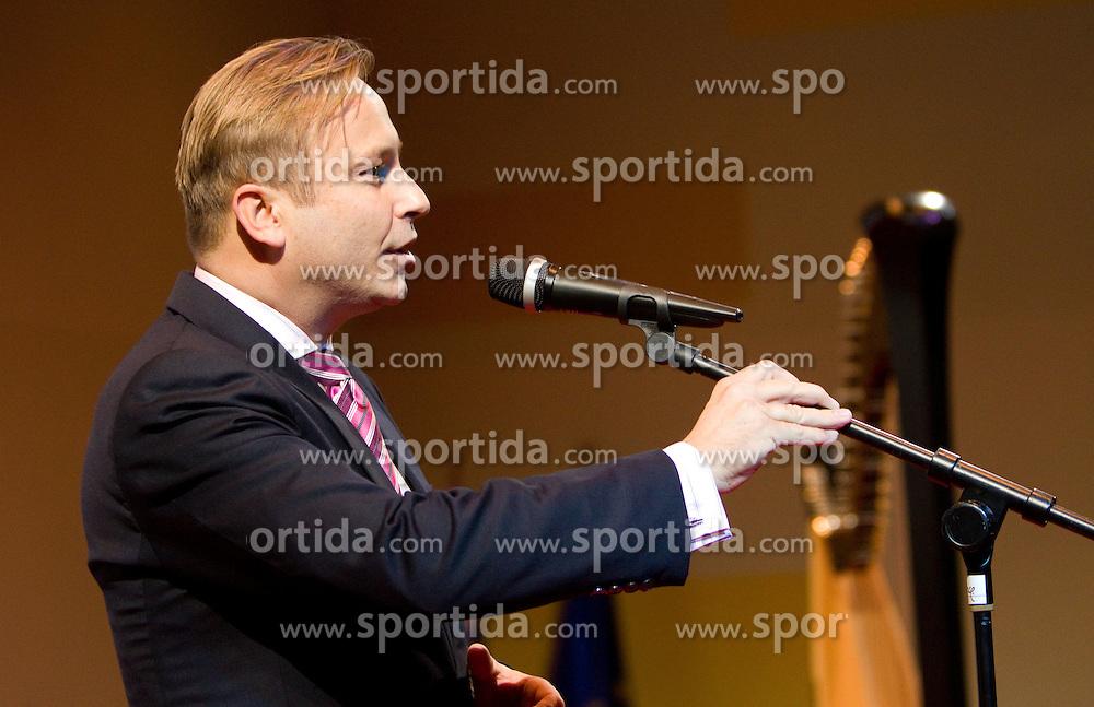 Dr. Peter Kukovica during the Slovenia's Athlete of the year award ceremony by Slovenian Athletics Federation AZS, on November 12, 2008 in Hotel Mons, Ljubljana, Slovenia.(Photo By Vid Ponikvar / Sportida.com) , on November 12, 2010.