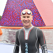 Hugh Brasher participle Swim Serpentine 2018, London, UK. 22 September 2018.