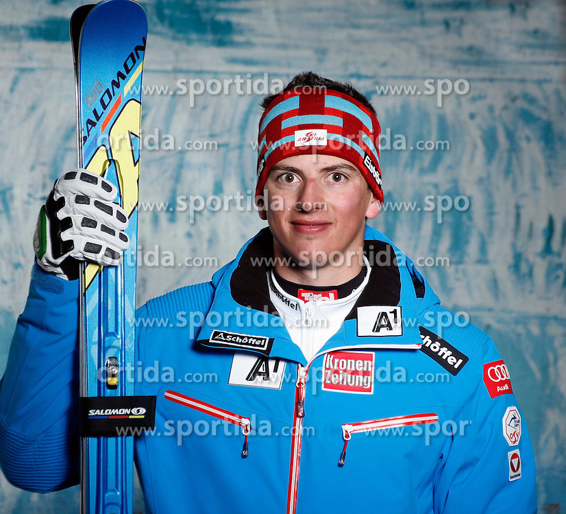 20.10.2012, Messehalle, Innsbruck, AUT, OeSV, Ski Alpin, Fototermin, im Bild Frederic Berthold (OeSV, Skirennlaeufer) // during the official Portrait and Teamshooting of the Austrian Ski Federation (OeSV) at the Messehalle, Innsbruck, Austria on 2012/10/20. EXPA Pictures © 2012, PhotoCredit: EXPA/ OeSV/ Erich Spiess
