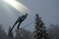 06.01.2012, Paul Ausserleitner Schanze, Bischofshofen, AUT, 60. Vierschanzentournee, FIS Ski Sprung Weltcup, 1. Wertungssprung, im Bild Andrea Morassi (ITA) // Andrea Morassi of Italy during 1st Round of 60th Four-Hills-Tournament FIS World Cup Ski Jumping at Paul Ausserleitner Schanze, Bischofshofen, Austria on 2012/01/06. EXPA Pictures © 2012, PhotoCredit: EXPA/ Johann Groder