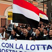 Manifestazione per l'Egitto libero