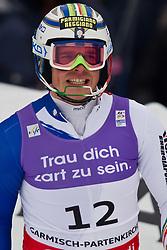 19.02.2011, Gudiberg, Garmisch Partenkirchen, GER, FIS Alpin Ski WM 2011, GAP, Herren, Slalom, im Bild Giuliano Razzoli (ITA) // Giuliano Razzoli (ITA) during Men's Slalom Fis Alpine Ski World Championships in Garmisch Partenkirchen, Germany on 20/2/2011. EXPA Pictures © 2011, PhotoCredit: EXPA/ J. Groder