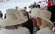 Henley on Thames, England, United Kingdom, Sunday, 07.07.19, GV, General View, Hats, Henley Royal Regatta,  Henley Reach, [©Karon PHILLIPS/Intersport Images]<br /> <br /> 12:11:03 1919 - 2019, Royal Henley Peace Regatta Centenary,