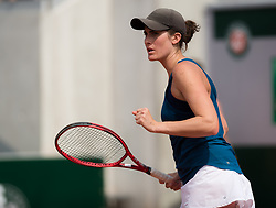 May 22, 2019 - Paris, FRANCE - Rebecca Marino of Canada in action during the first qualifications round at the 2019 Roland Garros Grand Slam tennis tournament (Credit Image: © AFP7 via ZUMA Wire)