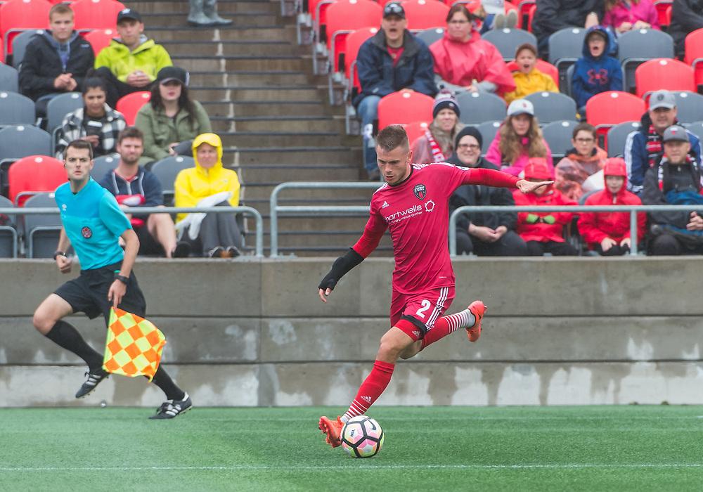 OTTAWA, ON - SEPTEMBER 03: USL match between the Ottawa Fury FC and Saint Louis FC at TD Place Stadium in Ottawa, ON. Canada on Sept. 3, 2017.<br /> <br /> PHOTO: Steve Kingsman/Freestyle Photography/Ottawa Fury FC