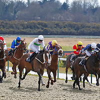 Kingwinford and George Baker winning the 3.00 race