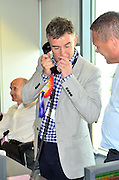 11.SEPTEMBER.2012. LONDON<br /> <br /> CELEBRITIES ATTEND BGC ANNUAL GLOBAL CHARITY DAY<br /> HOSTED BY GLOBAL ELECTRONIC BROKERS TO COMMEMORATE ANNIVERSARY OF 9/11 ATTACKS<br /> <br /> BYLINE: EDBIMAGEARCHIVE.CO.UK<br /> <br /> *THIS IMAGE IS STRICTLY FOR UK NEWSPAPERS AND MAGAZINES ONLY*<br /> *FOR WORLD WIDE SALES AND WEB USE PLEASE CONTACT EDBIMAGEARCHIVE - 0208 954 5968*