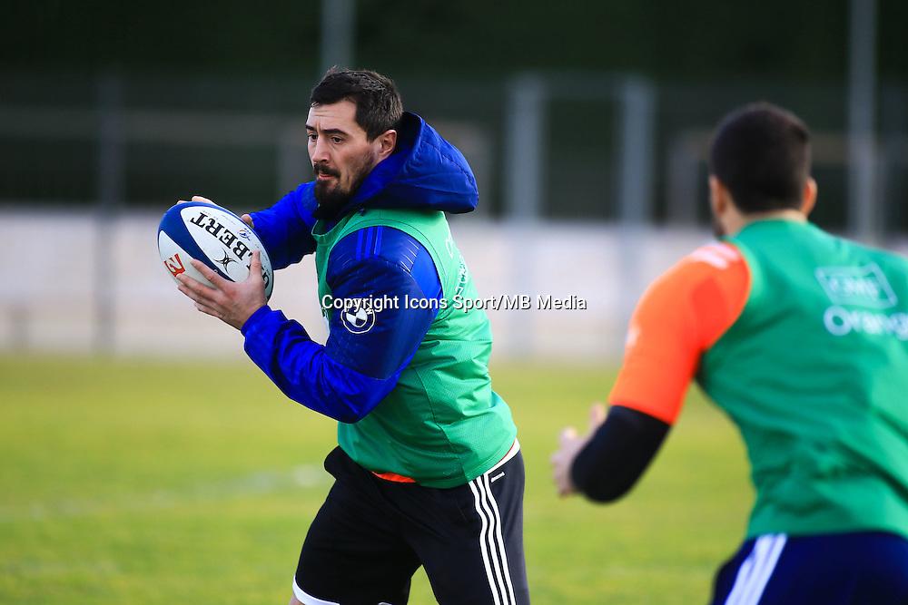 Alexandre Dumoulin - 27.01.2015 - Entrainement Equipe de France - Canet en Roussillon -<br /> Photo : Nicolas Guyonnet / Icon Sport