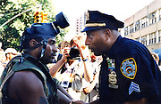 Atmosphere at The Million Youth March held on West 118th Street and Malcom X Blvd in Harlem, NY  on September 5, 1998