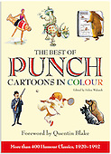 The Best of Punch Cartoons In Colour -Selection- See Galleries for Complete Set - Book On Sale NOW