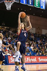 November 30, 2009; San Jose, CA, USA;  Saint Mary's Gaels guard Matthew Dellavedova (4) shoots against the San Jose State Spartans during the second half at the Event Center Arena.  Saint Mary's defeated San Jose State 78-71.