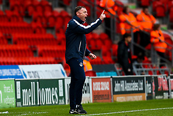 Bristol Rovers manager Graham Coughlan - Mandatory by-line: Robbie Stephenson/JMP - 19/10/2019 - FOOTBALL - The Keepmoat Stadium - Doncaster, England - Doncaster Rovers v Bristol Rovers - Sky Bet League One