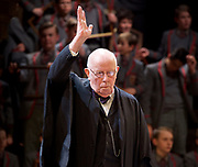 Forty Years On <br /> by Alan Bennett <br /> at Festival Theatre Chichester , Great Britain <br /> press photocall <br /> 25th April 2017 <br /> <br /> Richard Wilson as Headmaster <br /> <br /> <br /> <br /> Photograph by Elliott Franks <br /> Image licensed to Elliott Franks Photography Services