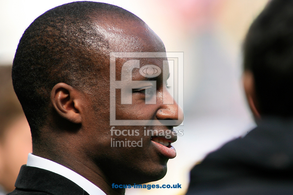 Picture by Richard Gould/Focus Images Ltd +44 7855 403186.04/05/2013.Sone Aluko of Hull City during the npower Championship match at the KC Stadium, Kingston upon Hull.