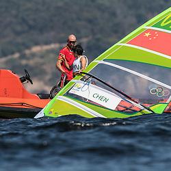Brazil Rio de Janeiro 2. August 2016 Marina di Gloria, Rio 2016 Olympic Games, Racing day 2<br /> <br /> ©Juerg Kaufmann go4image.com