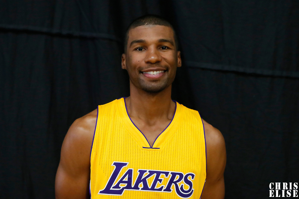 29 September 2014: Ronnie Price is seen during the Los Angeles Lakers Media Day, at Toyota Sports Center, El Segundo, California, USA.