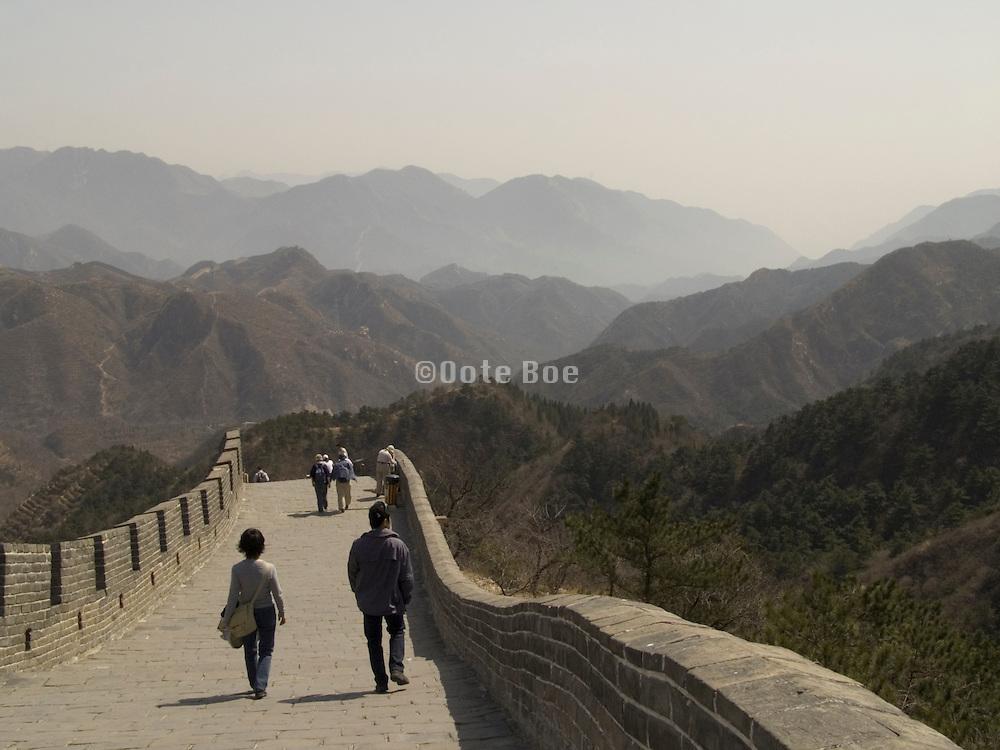 the Great Wall at Badaling Beijing China