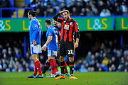 AFC Bournemouth forward Glenn Murray during the The FA Cup fourth round match between Portsmouth and Bournemouth at Fratton Park, Portsmouth, England on 30 January 2016. Photo by Graham Hunt.