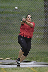 Frizell, Sultana competing in the women's hammer throw final at the 2007 OTFA Junior-Senior Championships held in Ottawa from 30 June to July 1.