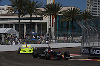 Ran Hunter-Reay, Ed Carpenter, Indy Car Series