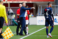 23-08-2015 VOETBAL:AZ-WILLEM II:ALKMAAR <br /> Eredivisie 2015-2016 <br /> <br /> Trainer John van den Brom van AZ<br /> <br /> Foto: Geert van Erven