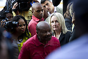 Day of Verdict In The Trial Of Oscar Pistorius<br /> <br /> Barry and June Steenkamp, parents of Reeva Steenkamp, arrive in North Gauteng High Court on September 11, 2014 in Pretoria, South Africa. North Gauteng High Court on September 11, 2014 in Pretoria, South Africa where Judge Thokozile Masipa will deliver judgment on Oscar Pistorius for the murder of his girlfriend, model Reeva Steenkamp  <br /> ©Exclusivepix