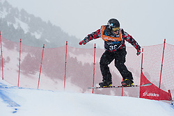 LESLIE John, Snowboarder Cross, 2015 IPC Snowboarding World Championships, La Molina, Spain