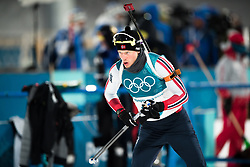 February 12, 2018 - Pyeongchang, SOUTH KOREA - 180212  Tarjei Bø of Norway prior the Men's Biathlon 12,5km Pursuit during day three of the 2018 Winter Olympics on February 12, 2018 in Pyeongchang..Photo: Jon Olav Nesvold / BILDBYRÃ…N / kod JE / 160157 (Credit Image: © Jon Olav Nesvold/Bildbyran via ZUMA Press)